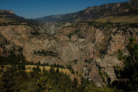 Clarks Fork Canyon, Dead Indian Hill, Hiking Trail