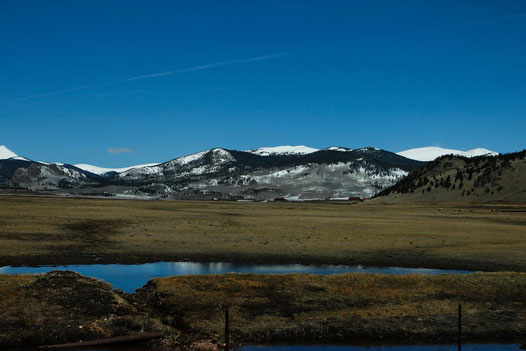 colorful Colorado, mountains USA, road trip