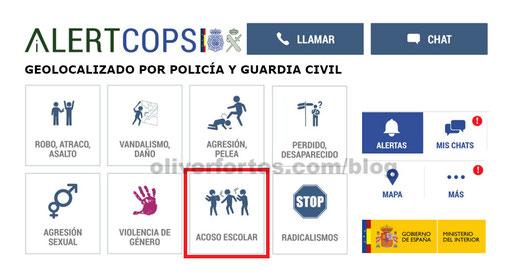 APLICACION ALERTCOPS POLICIA Y GUARDIA CIVIL PARA DENUNCIAR DELITOS