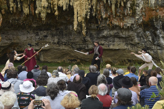 Sword vs magic in Ozact's The Tempest at Loch Ard Gorge