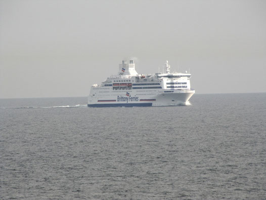 Normandie serait remplacé par le nouveau navire. Photo Benjamin HURTAUT.