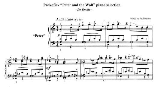 pierre et le loup musique