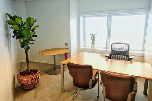 Location et entretien de plantes pour ce bureau de la Défense