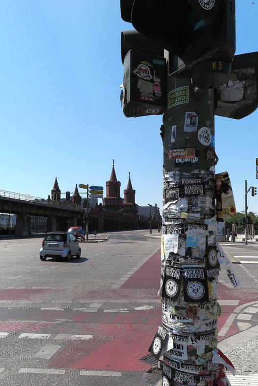 Berlin - an der Oberbaumbrücke