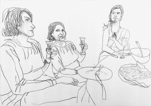 Nina Gross Kunst Zeichnung