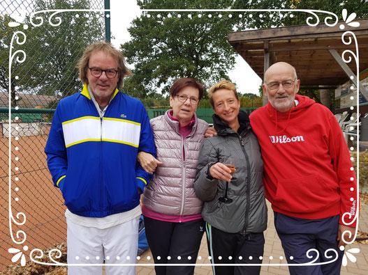 v. links: Reiner, Astrid, Annette und Kurt
