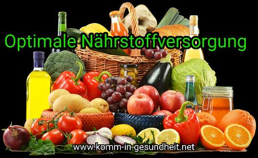 Gesunde Ernährung und unterstützende Mikronährstoffe