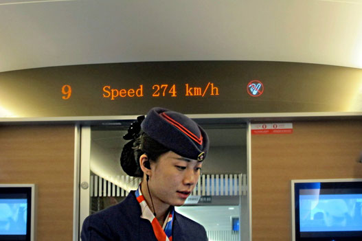 China High-Speed Zug