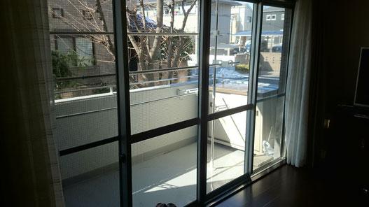 内窓リフォーム前