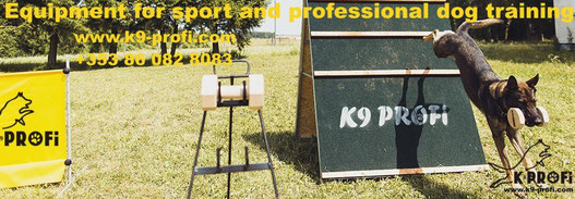 Professional dog training equipment - www.k9-profi.com