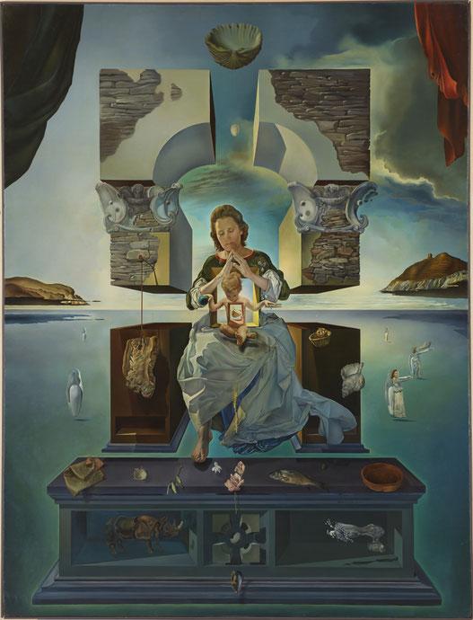 Мадонна Порт-Льигата (вторая версия)