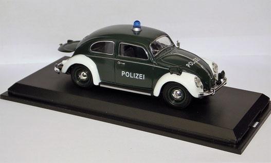 Modellauto VWKäfer Polizei, Schuco