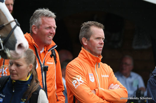 Luc Steeghs (rechts)
