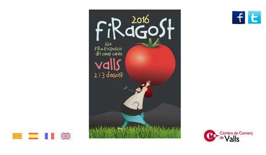 Programa de la Firagost en Valls