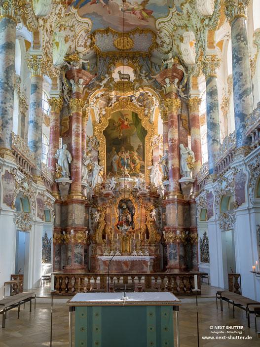 Alter der Wieskirche