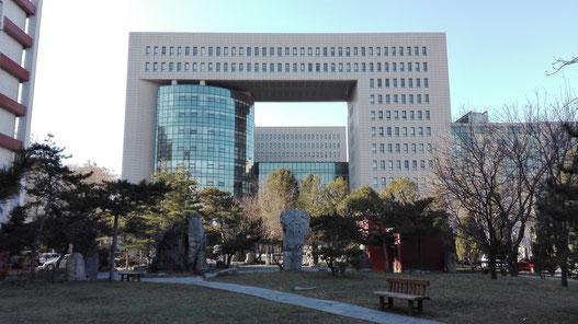 中国 留学 中国語 北京語言大学 シニア留学 夏期講座 留学サポート アクセス情報 地図 キャンパス 総合楼