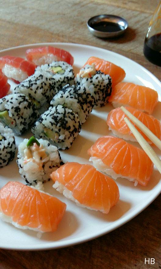 Sushirijst Uit Sushi Van Laure Kié Heerlijk Boek