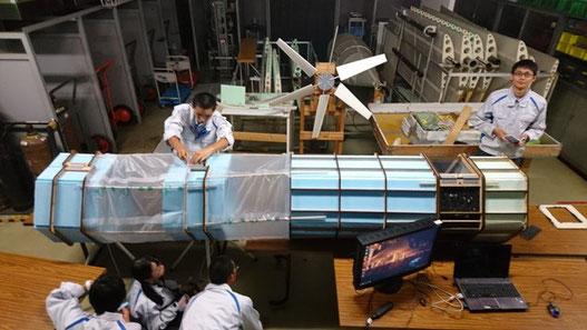 風洞実験装置