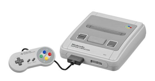 Super Nintendo (modelos europeo), 1990