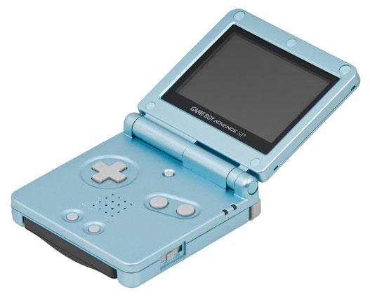 Nintendo Game Boy Advance SP, 2003