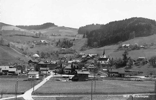 Aufnahme von Walkringen aus dem Jahr 1959/60