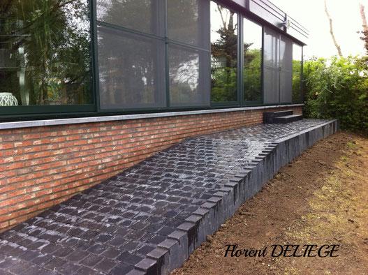 aménagement terrasse extérieur entrepreneur parc et jardin