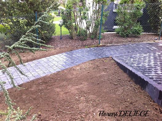 pose klinkers prix aménagement extérieur jardin terrasse