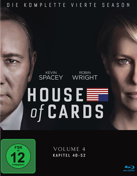 House Of Cards Staffel 4 Blu-ray - Kevin Spacey - Robin Wright - Sony - kulturmaterial
