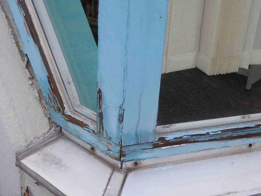 Eckfenster in der Bezirkszentralbibliothek, Foto Weil