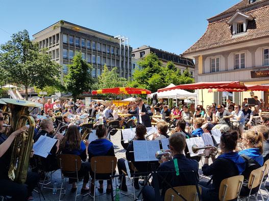Brass Band Berner Oberland Junior - Fête de la Musique 2017
