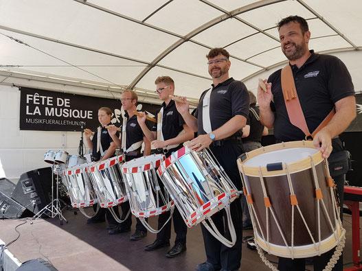 Drum Corps Musikverein Thun - Fête de la Musique 2017