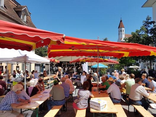 Fête de la Musique Thun 2017 auf dem Waisenhausplatz