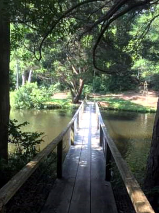 Baba's Bridge at the Meher Center at Myrtle Beach, SC.