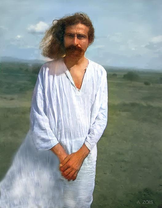 9. Meher Baba at Meherabad, India in 1930. Photo taken by Paul Brunton.