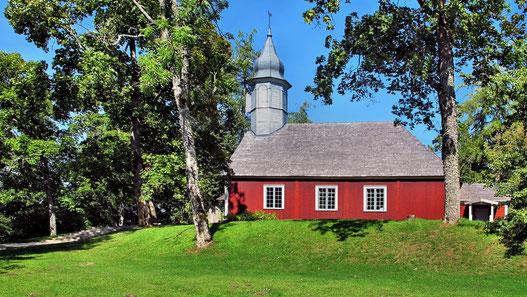 Lettland - Holzkirche von Turaida