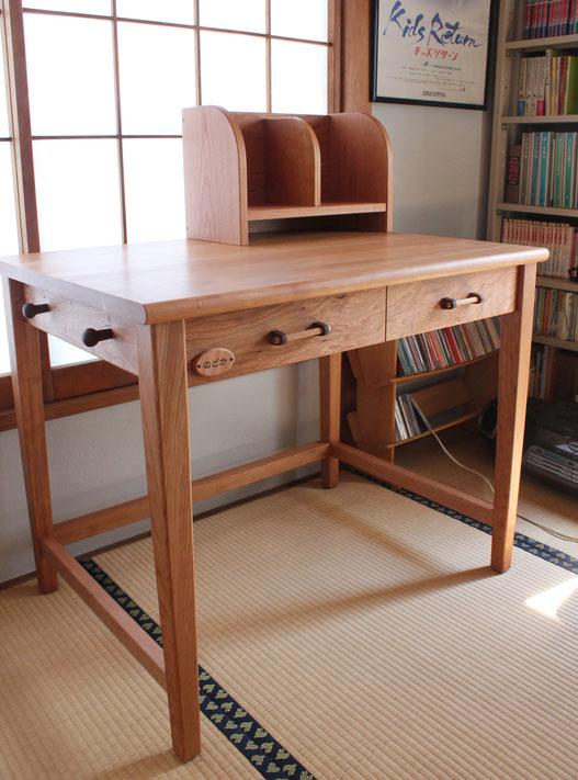 シンプル学習机(厚木市・A様邸)