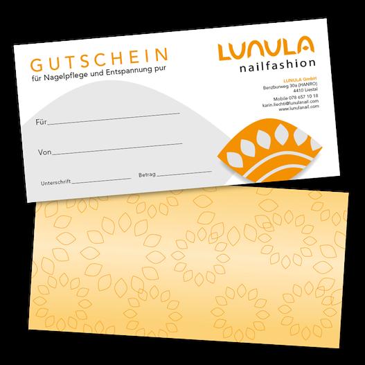 Gutschein Lunula Nailfashion, Liestal