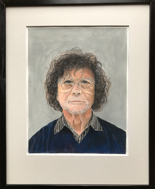 An Artist, coloring pencil on paper/ 50 x 40 cm / 2019 / 23