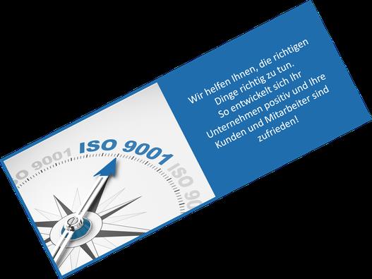 Wir helfen Ihnen, die richtigen Dinge richtig zu tun - QM-Beratung & Unterstützung zur ISO 9001 - ITC-CONTE