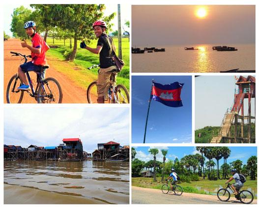 トンレサップ湖|カンボジア旅行|オークンツアー|現地ツアー|サイクリング