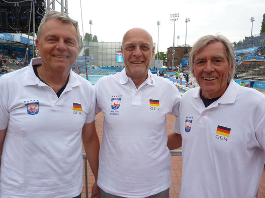 Von Links: Norbert Schüppler, Hansi Brückner und Norbert Bande - Foto: Privat