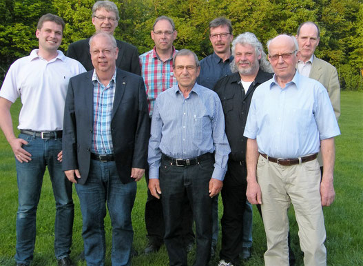Vorstand und Aufsichtsrat des Wasserwerk Schenefeld.