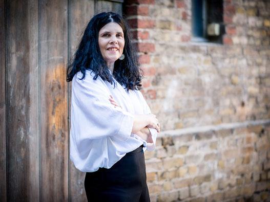 Portraitfoto von Katharina Reulecke, M.A., Konferenzdolmetscherin