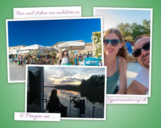 6 Fragen an Timo und Adina von   mobilista.eu - Das Rollstuhl-Reiseblog