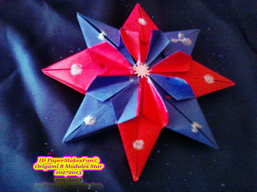 8 Modules blue - red - silver