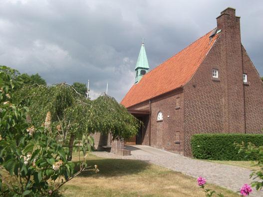 Katholische Kirche St. Clemens in Helsingborg.