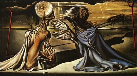 Tristan et Iseult de Salvador Dali