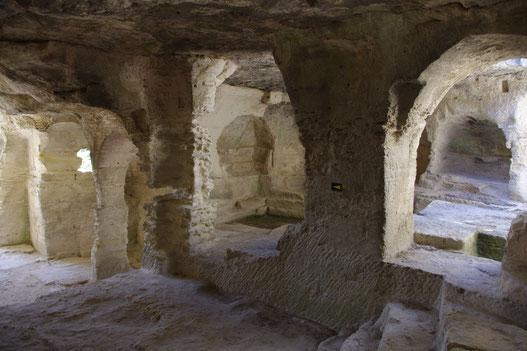 Saint-roman à Beaucaire, visite recommandée par la maison d'hôtes le clos des Sorgues