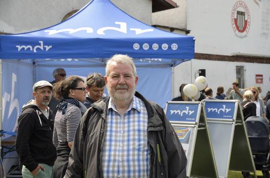 Hans-Jürgen Ostermann (Bild) und viele SPD-Mitglieder unterstützen die Aktion von Eintracht, Fanfarengarde und dem MDR