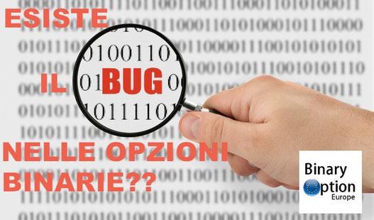falla o bug nelle opzioni binarie esiste?